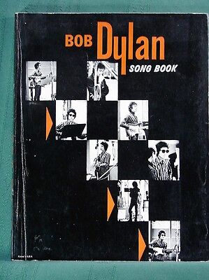 Bob Dylan Song Book - vintage sheet music songbook