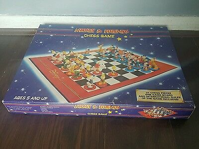 Walt Disney's Mickey Mouse  Mickey & Friends Character Chess Set