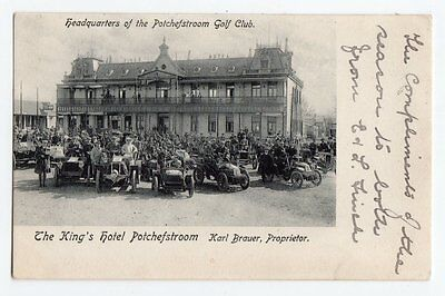 RPPC South Africa Potchefstroom Kings Hotel Headquarters Golf Club old cars nice