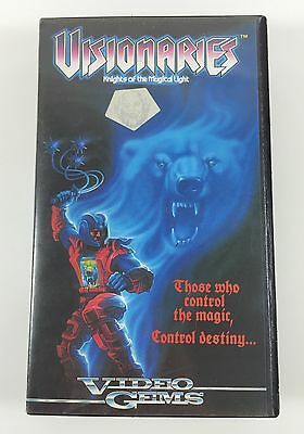 Visionaries Knights of the Magical Light VHS 1987 Video Gems Retro 80s Animation