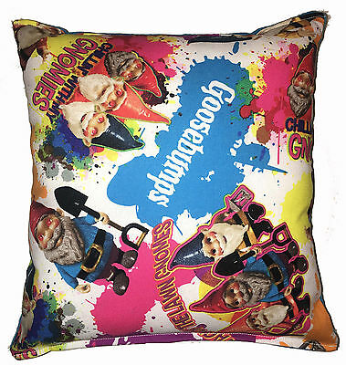 Goosebumps Pillow Gnome Movie Pillow Handmade in USA Approx 10in x 11in
