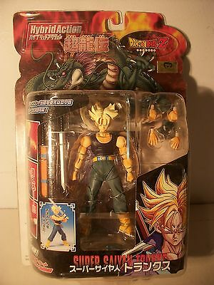 Dragonball Z  SS Trunks rare Hybrid Action Figure Mint new on card UK Seller