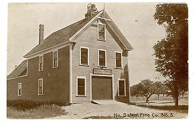 North Salem NY - EARLY FIREHOUSE - Postcard Westchester County