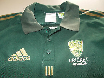 Australia - Official Adidas One Day Cricket Shirt - Small - See Desc For Sizing