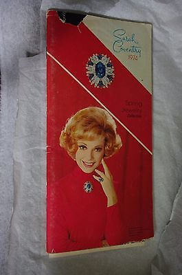 NEW  APRIL 1974 Sarah Coventry Fashion Jewelry Collection Catalog Rings Necklace