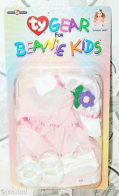 Sunday Best Ty Gear Doll Plush Clothing For Beanie Baby Babies Kids Clothes New