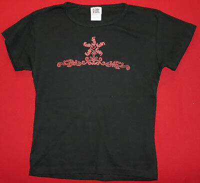 Korn Babydoll T-Shirt Sprout Logo Black Size Junior One Size