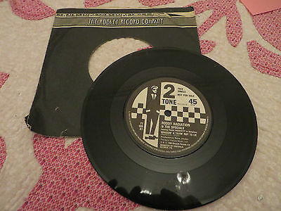 Roddy Radiation And The Specials Rare Single