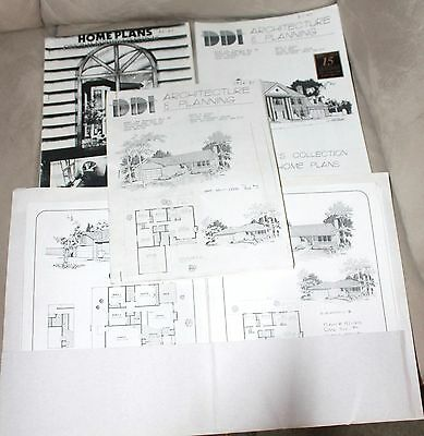 Lot of Architecture & Planning Home Plans Luxury 1970s Thru 1990s DDI