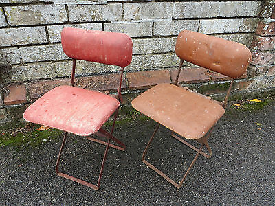 Two Vintage Childs Chairs