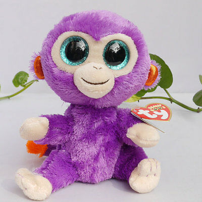 New TY BEANIES BOOS Collection ~Grapes Glitter eyes Stuffed toy Lovely Gift
