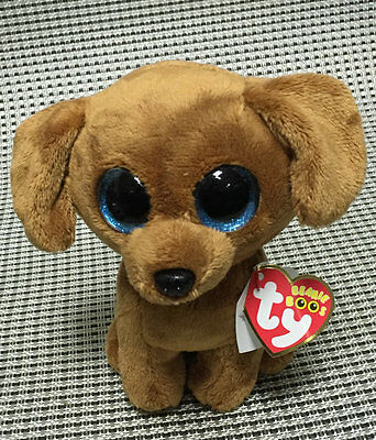 """Soft Toy From NWT TY BEANIES BOOS Collection Dougie Dog  6"""" Stuffed toy Lovely"""