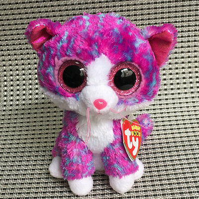 Soft Toy Charlotte from TY BEANIE BOOS Stuffed With all tags 6 inch tall