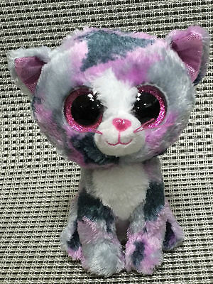 Soft Toy From TY BEANIES BOOS Lindi the cat 6 inch Stuffed toy no hearet tag