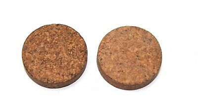 wwii us original vintage canteen cork in new condition lot of 2 E2305