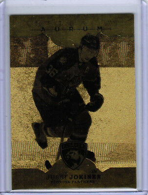 16/17 UD ARTIFACTS HOCKEY AURUM GOLD INSERT CARDS (A-1 to A-50) U-Pick From List