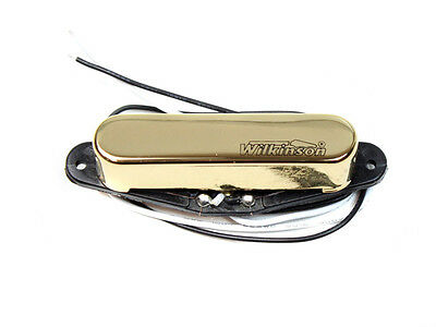 Wilkinson Electric Guitar Pickup Neck Gold Single Coil for Tele MWTN