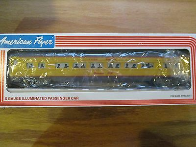 "Lionel American Flyer 48908 Union Pacific ""Pasadena"" Passenger car w Free ship!"