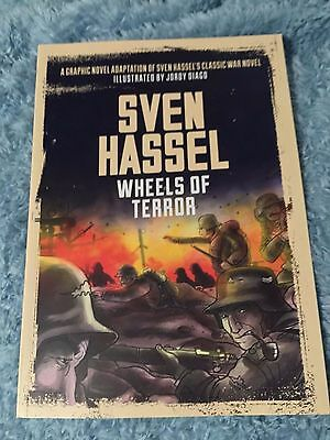 Sven Hassel - Wheels of Terror - Graphic Novel  - Illustrated by Jordy Diago