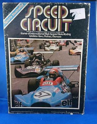 Avalon Hill Game - Speed Circuit 1977 Sports Illustrated