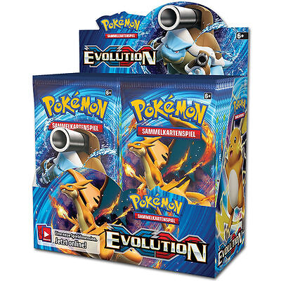 Pokemon XY #12 Evolution - Booster Display - DE