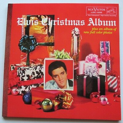 Lp Elvis Presley - Elvis Christmas Album 'red Vinyl'