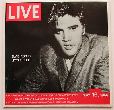Lp Elvis Presley - Elvis Rocks Little Rock May 16, 1956