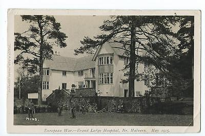 Herefordshire RP by Tilley of Brand Lodge Hospital, Colwall  PU Aug1915