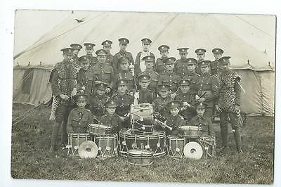 Herefordshire RP of the Regimental fife and Drum band @1912