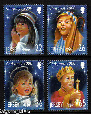 """Jersey Stamps 2000 """"Christmas"""" sg968-971 - Fine used"""