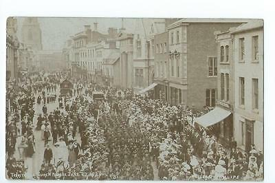Herefordshire RP Herefordshire Regiment Church Parade in Broad St Hereford 1907