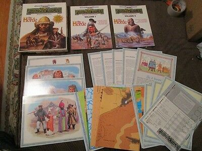 TSR The Horde Campaign Setting-AD&D Forgotten Realms-BOX SET
