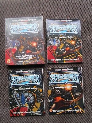AD&D 1072 Spelljammer War Captain's Companion boxed game Dungeons Dragons 2nd Ed