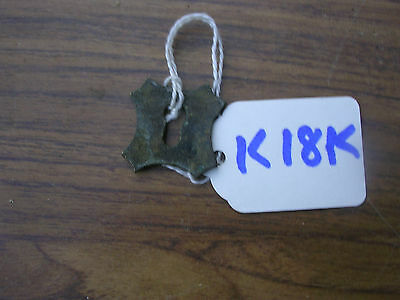 Antique Brass Escutcheon For A Writing Slope