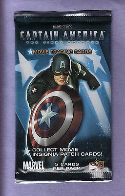 2011 Upper Deck MARVEL Captain America Movie Trading Cards Pack!