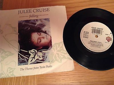 Julee Cruise ( Theme From Twin Peaks ) 1989 Vinyl 45 Rpm P/sleeve Record