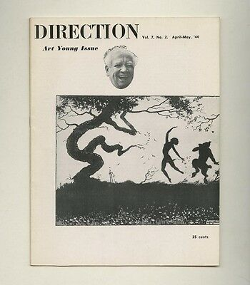 1944 Art Young Issue DIRECTION The Masses + Liberator Amer. Satirical Cartoonist