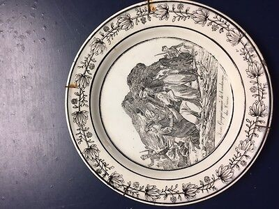 Greek Slave Saved From Turkish Slavery French Early 19Th Century Plate
