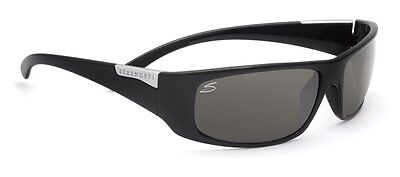 Serengeti Sunglasses   Fasano  Shiny  Black  7394 Polarized  Anti Glare