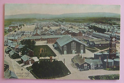 Postcard POSTED 1905 CURRAGH CAMP,CAMP LOOKING EAST,CURRAGH Co.KILDARE IRELAND