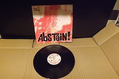 five thirty abstain 12 inch excellent 1st press