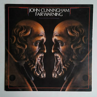 John Cunningham - Fair Warning Green - Vinyl LP US 1983