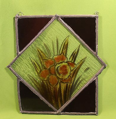 Vintage Stained Glass From Old Texas House Neat Design