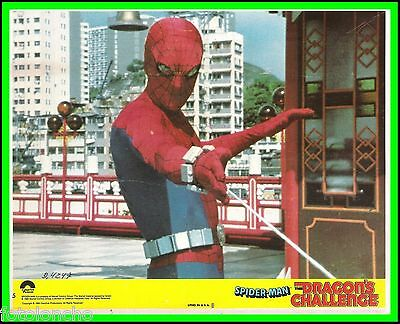 "NICHOLAS HAMMOND in ""Spider-Man: The Dragon's Challenge"" Orig.TV LOBBY CARD 1979"