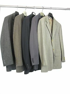 Lot of 5 Mixed Designers Blazers & Sport Coats - All Made in Italy