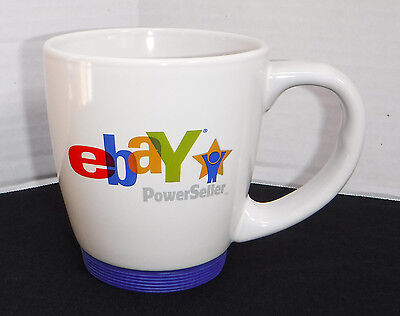 Powerseller Mug From eBay LIVE! Convention Chicago 2008 MINT! Cond Non-Skid Base