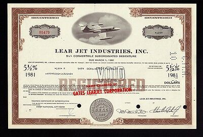 *********************** Lear Jet Industries Inc ******