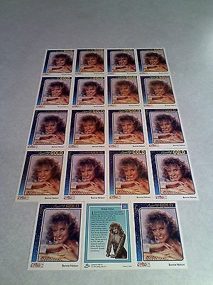 *****Bonnie Nelson*****  Lot of 19 cards