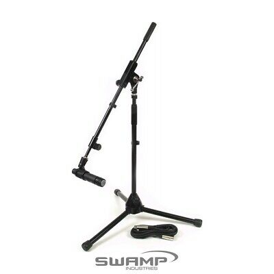 Guitar Amp Mic'ing Pack - iSK DM-57 + Stand + Cable