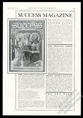 1906 J.C. Leyendecker 3 Kings Success Magazine Xmas cover vintage print ad
